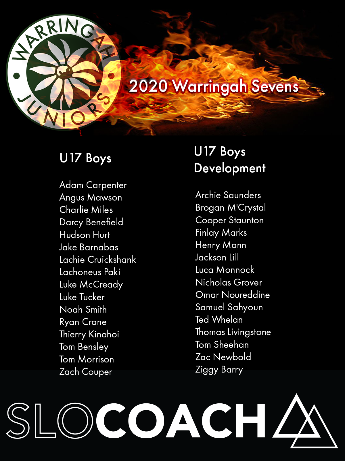Good luck to our two U17 Sevens squad heading out to play in the Penrith U17 Inv...