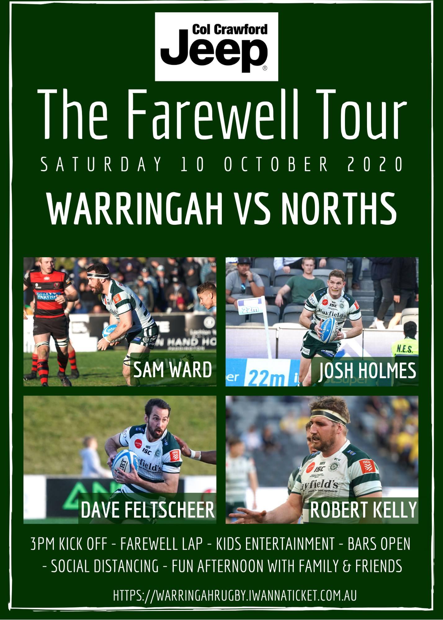 The Farewell Tour...