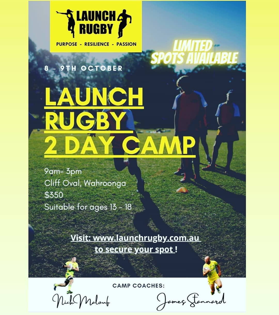 The aim of the camp is to give you an opportunity to experience, learn and train...
