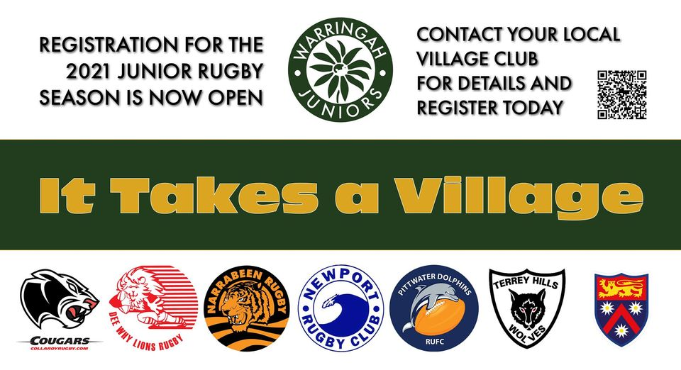Registration for the 2021 Junior Rugby S