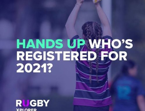 Who's registered for 2021 Rugby Season