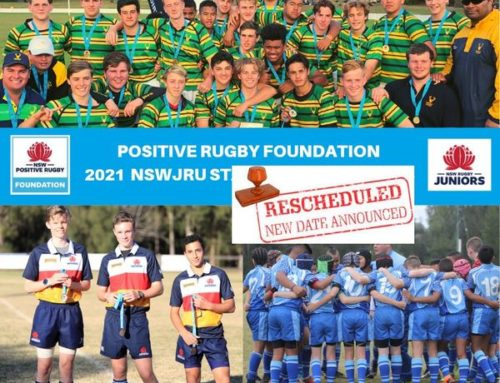 NEW DATE – 2021 Positive Rugby Foundatio