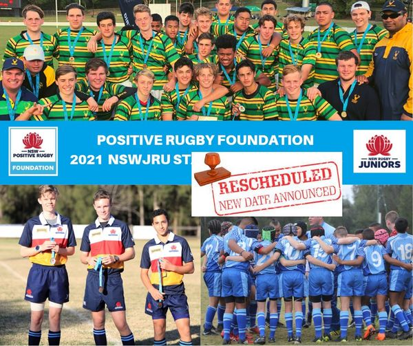 NEW DATE - 2021 Positive Rugby Foundatio
